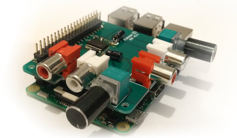 Audio Injector Raspberry Pi hat